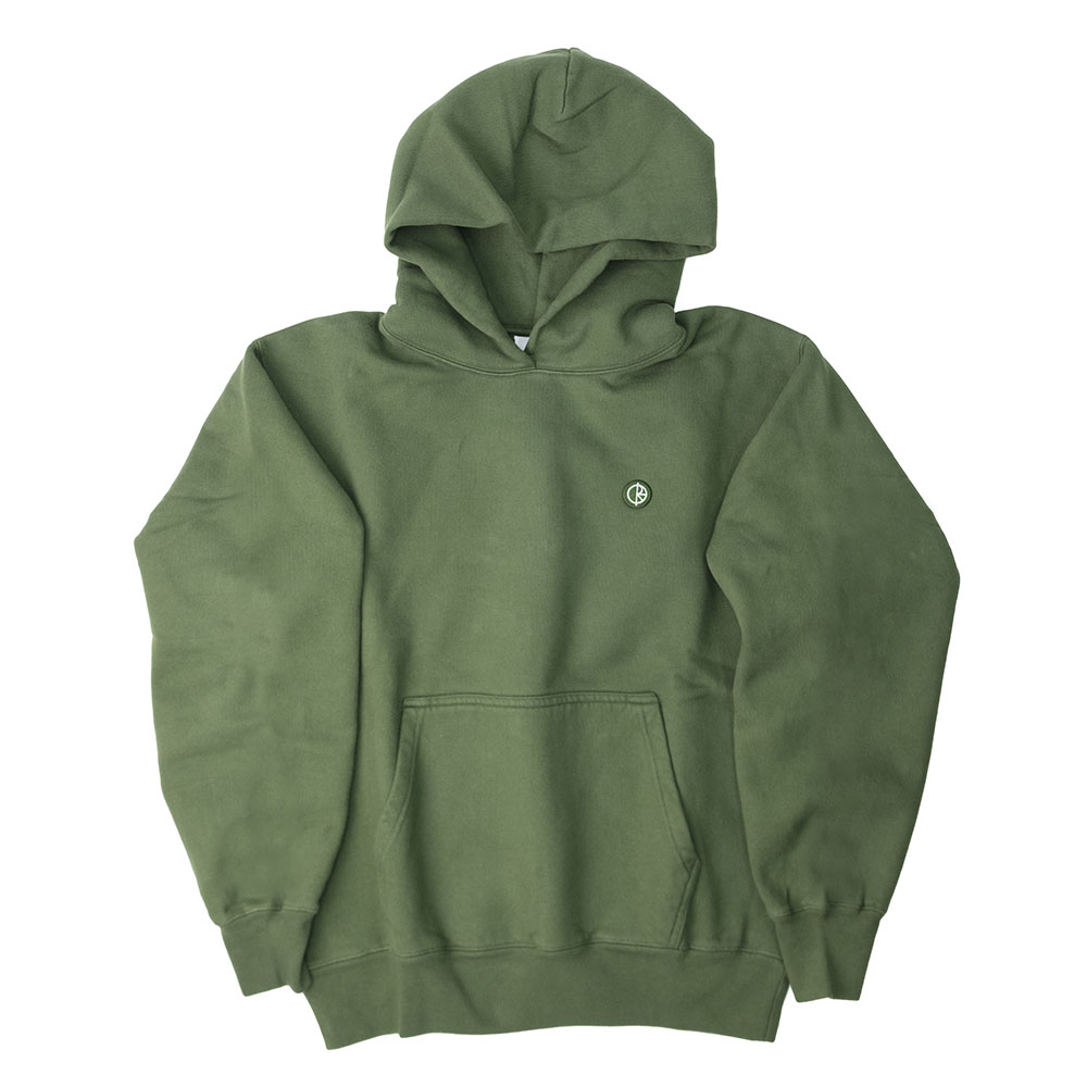 Polar Skate Co. Patch Hoodie - Hunter Green