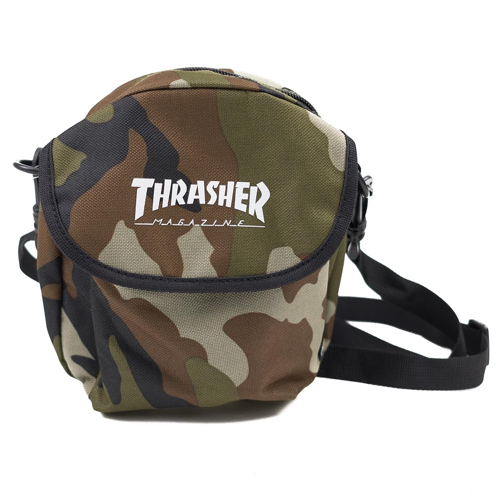 Thrasher (Japan) Hometown Adventure Shoulder Bag - Camo