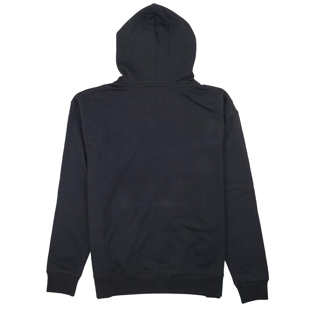 Thrasher (Japan) Reburn Flame Hooded Sweatshirt - Black