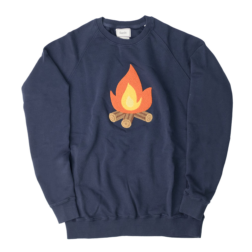 forét Heat Sweatshirt - Navy