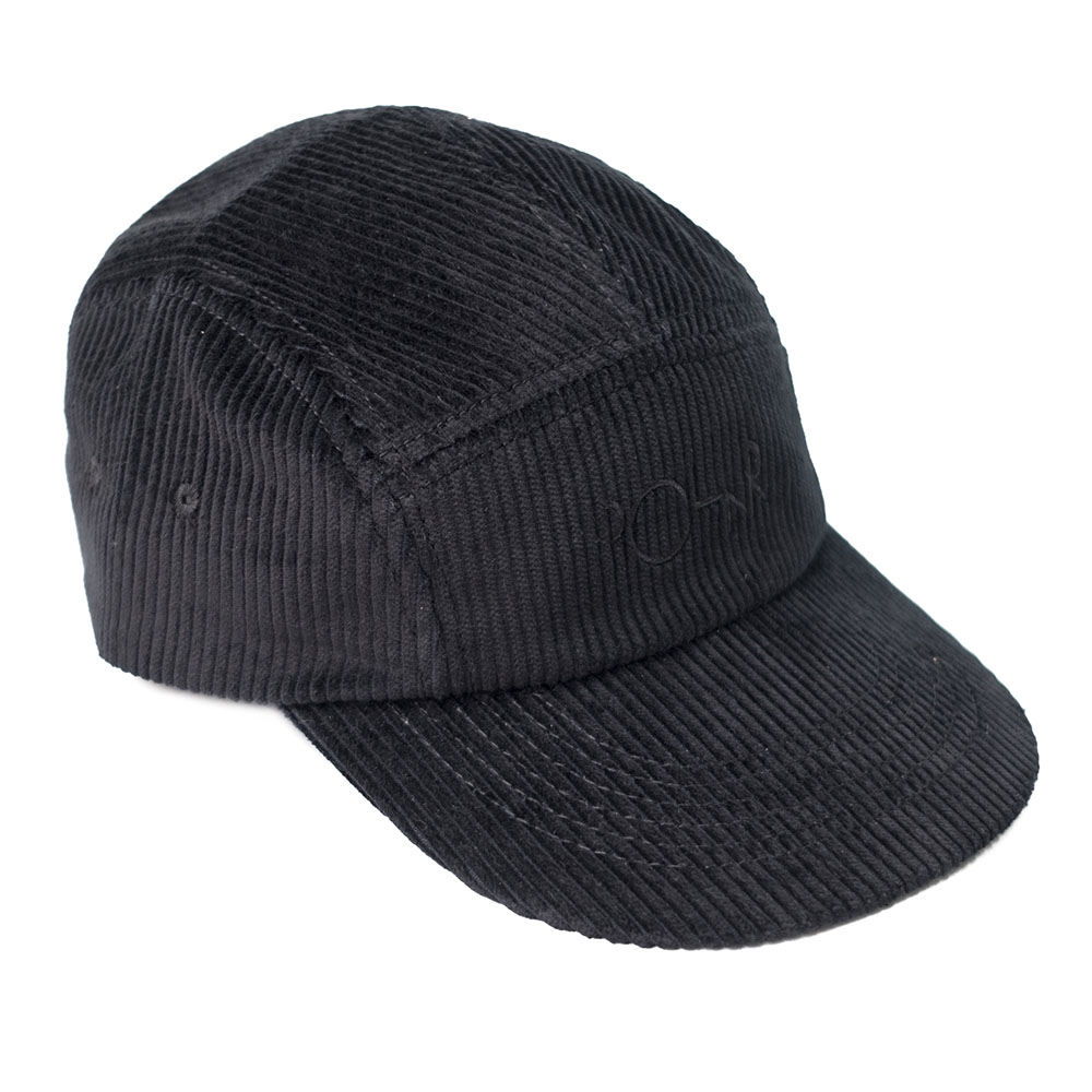 Polar Skate Co. Cord Speed Cap - Black