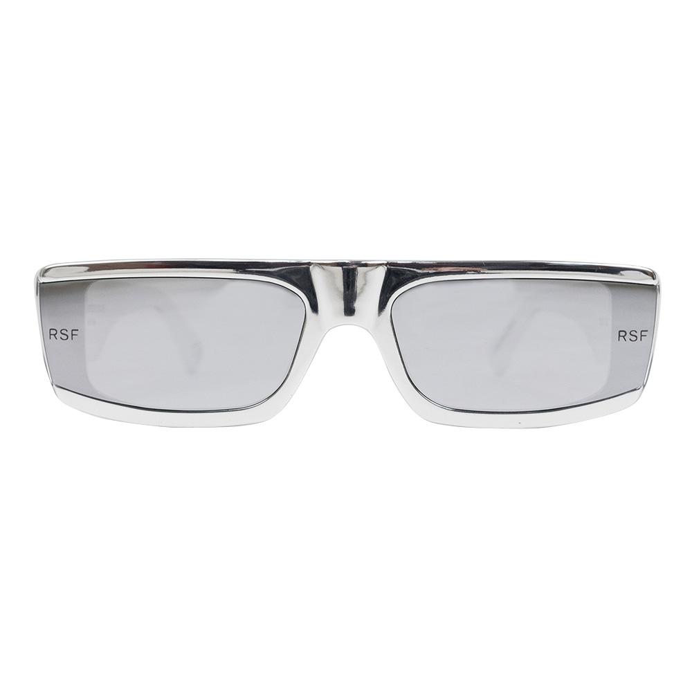 RETROSUPERFUTURE Issimo Chrome Sunglasses - Silver