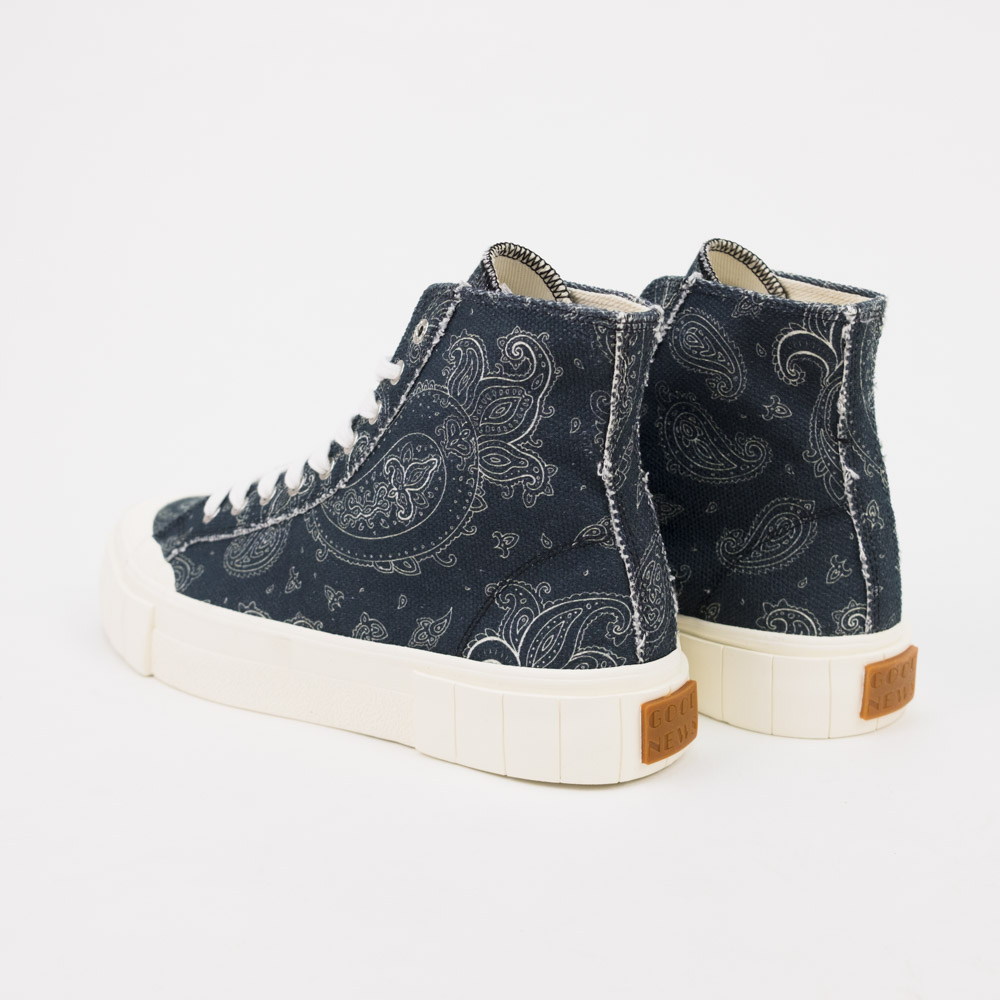 Good News Palm Paisley Sneaker - Black