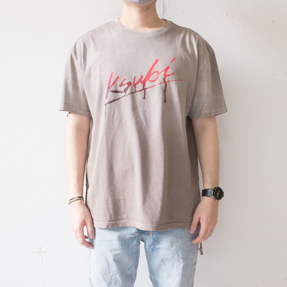 Ksubi Flint Short Sleeve Tee - Grey