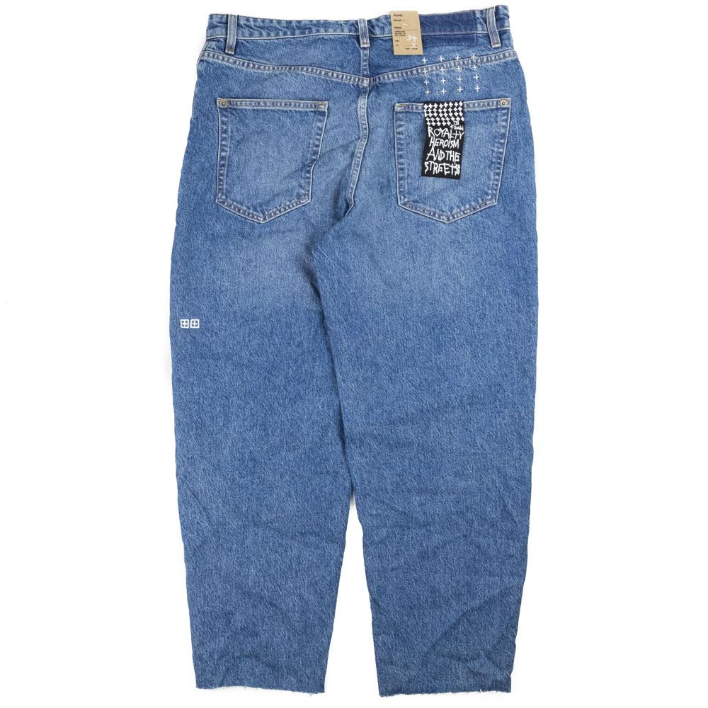 Ksubi Bullet Crop Blazed Jeans- Denim