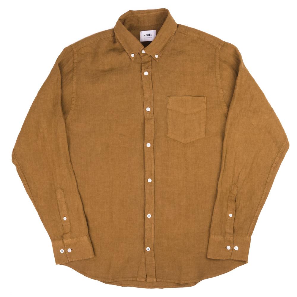 NN07 Levon Shirt - Canela Brown