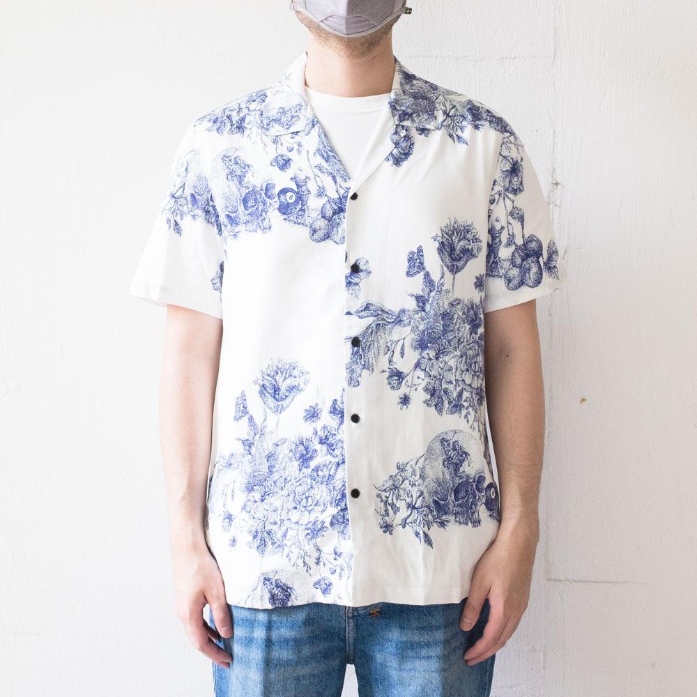 Ksubi Master Resort Short Sleeve Shirt - White