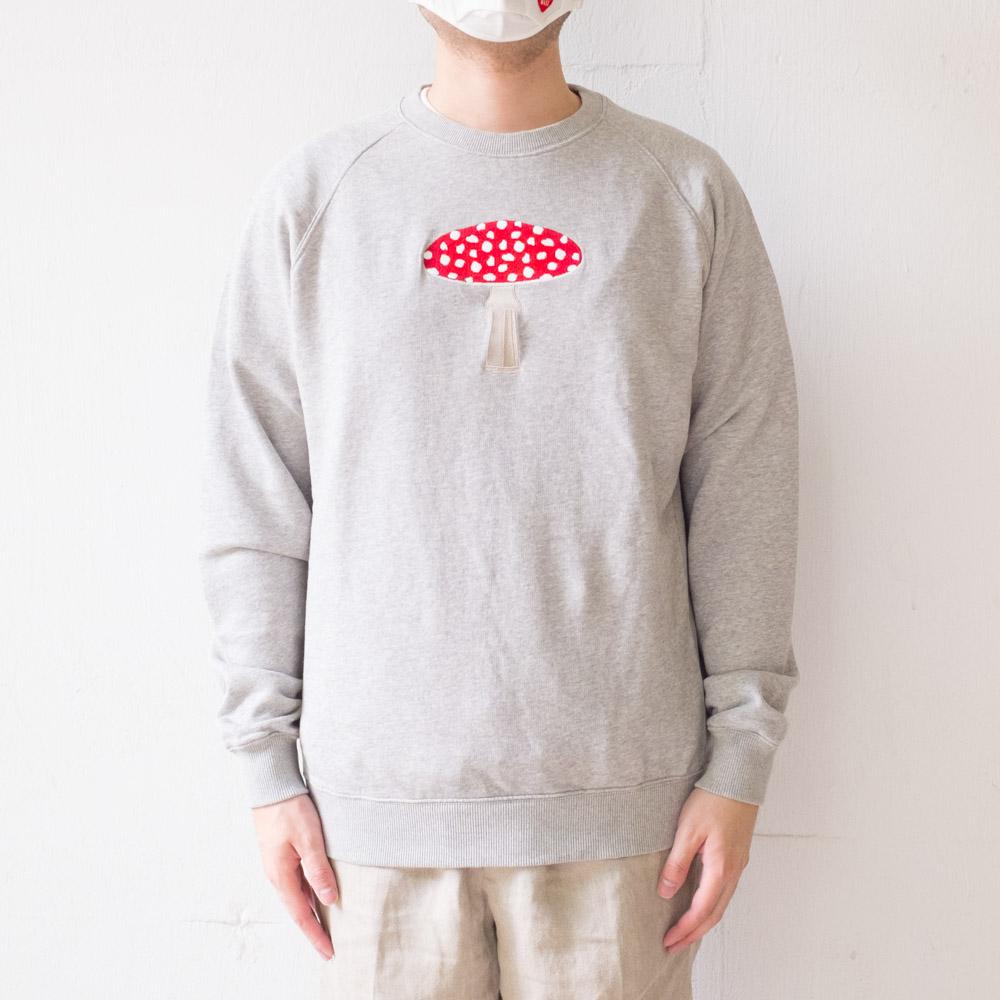 forét FLY Sweatshirt - Light Grey Melange