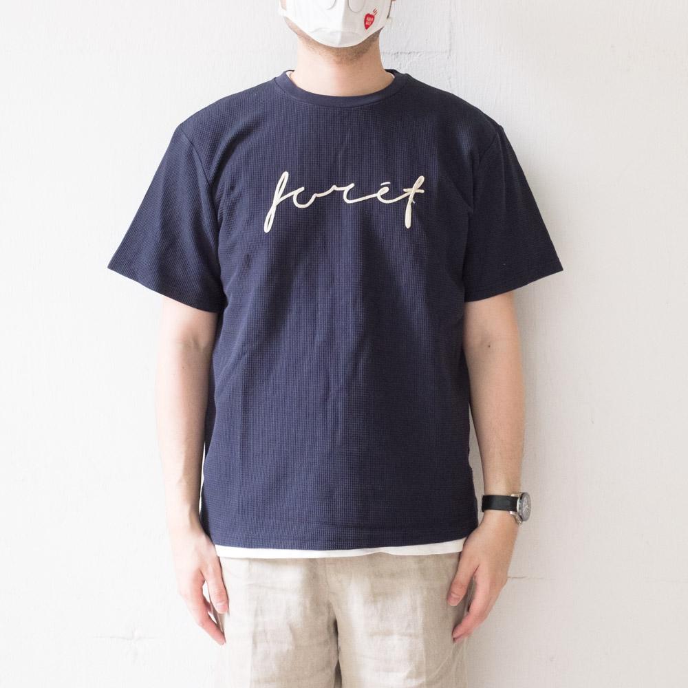 forét Path T-Shirt - Navy