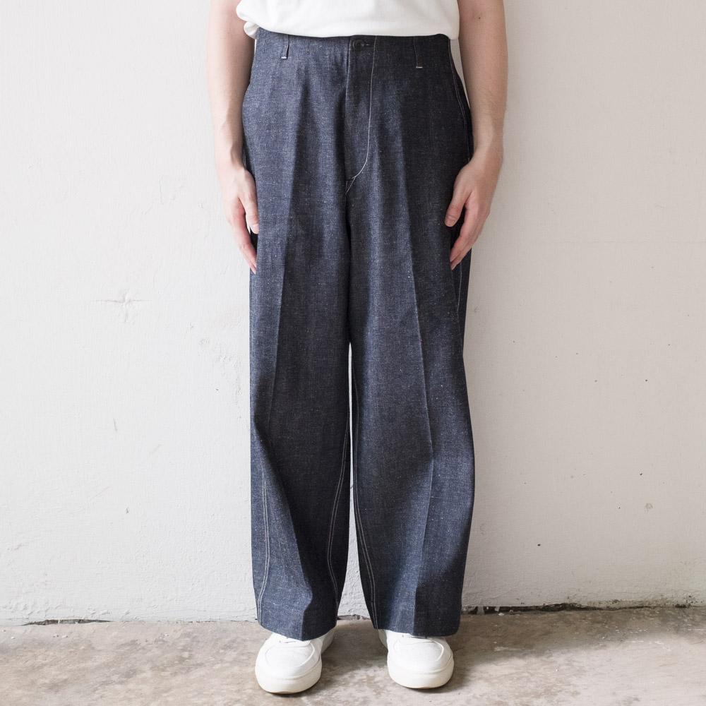 Kuro x J.Press Denim Trouser - Indigo