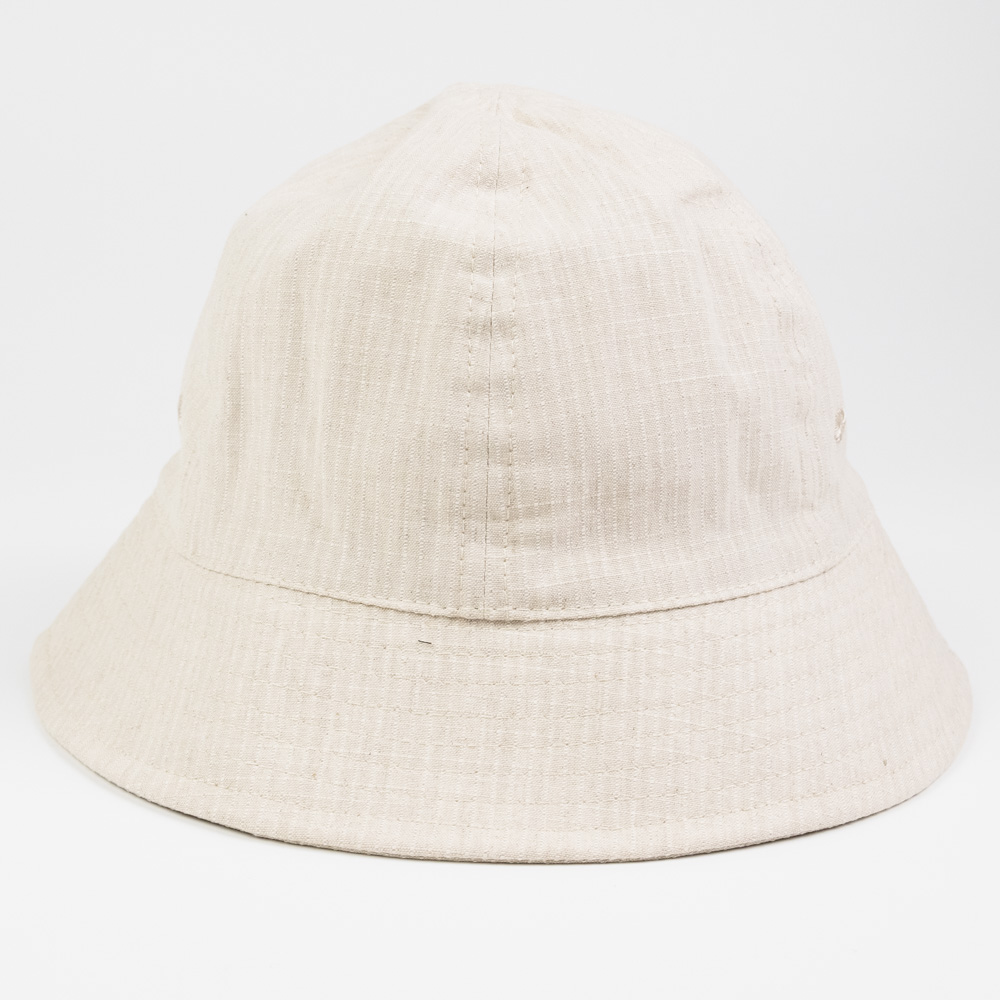 Folk Bucket Hat - Slubby Natural Ripstop