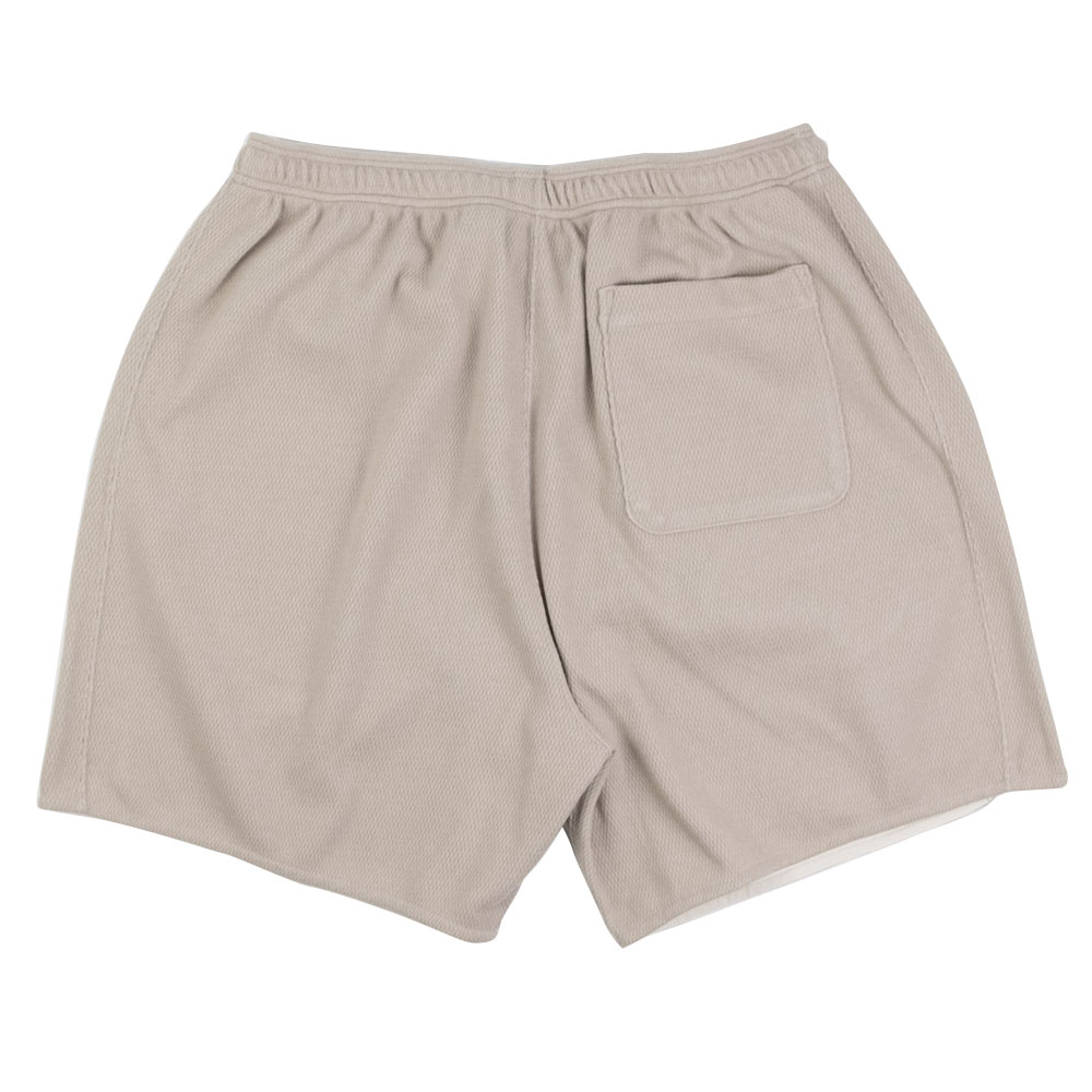 Kuro Honeycomb Shorts - Beige