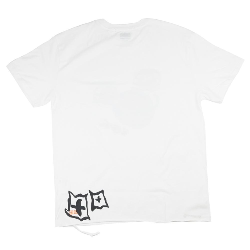 Ksubi x HidjiWorld & Don't Watch TV Bball Biggie Short Sleeve Tee - White