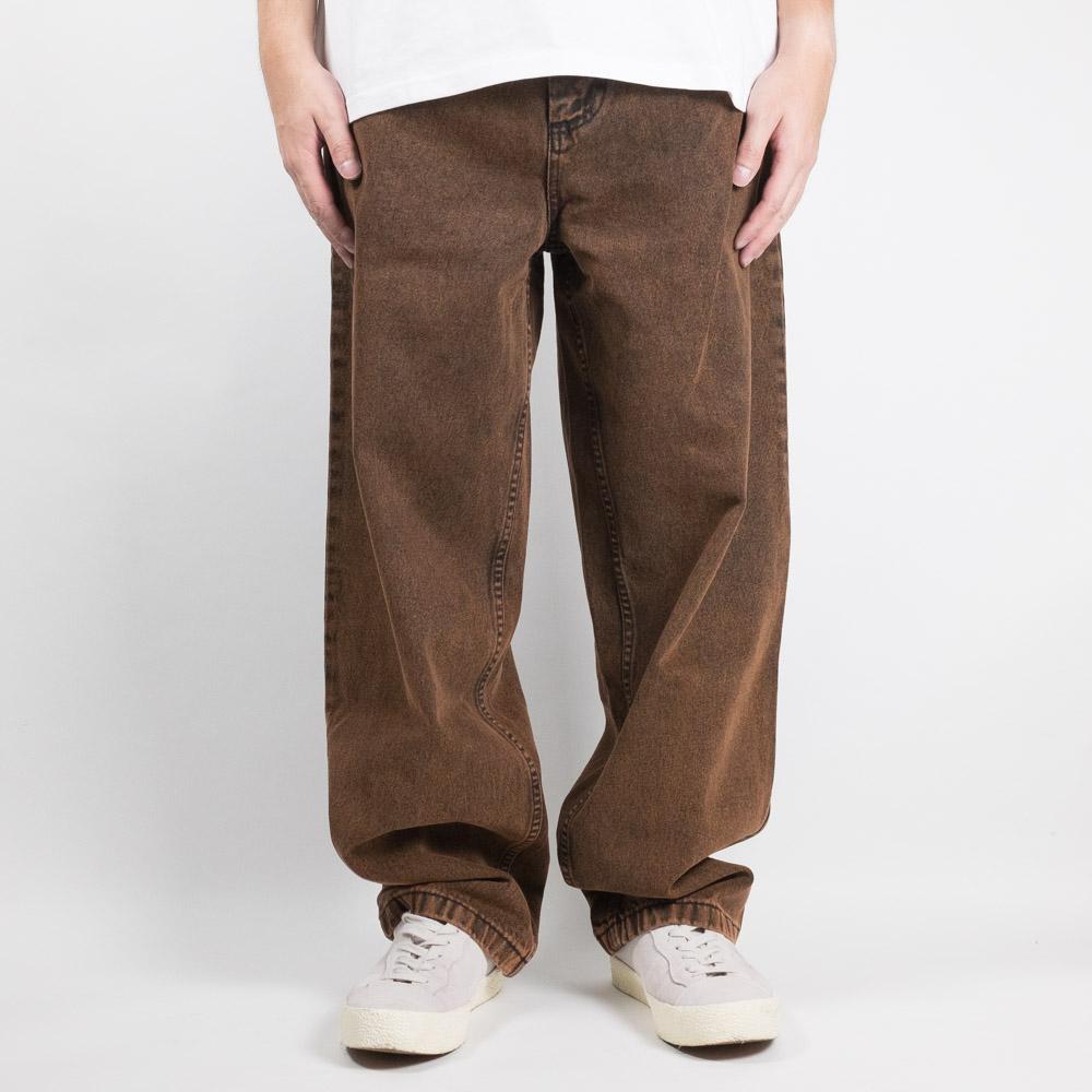 Polar Skate Co. Big Boy Jeans - Orange Black