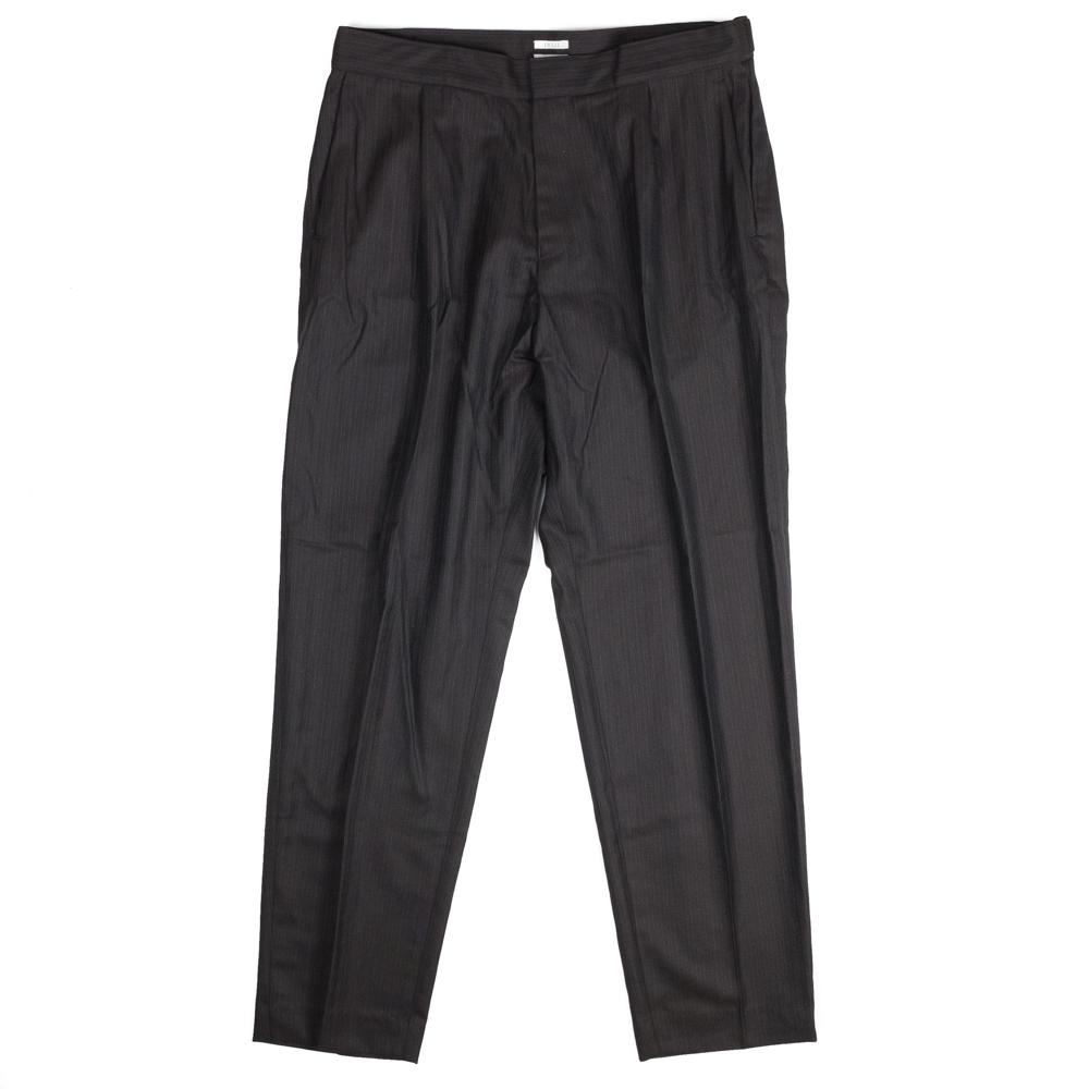 IKIJI Stripe Waist Adjustable Pants - Black