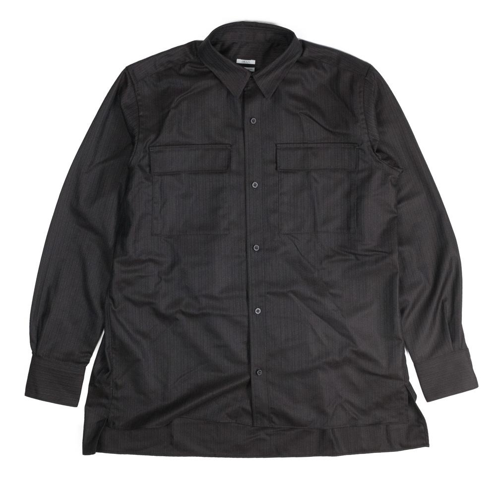 IKIJI Stripe Shirts - Black