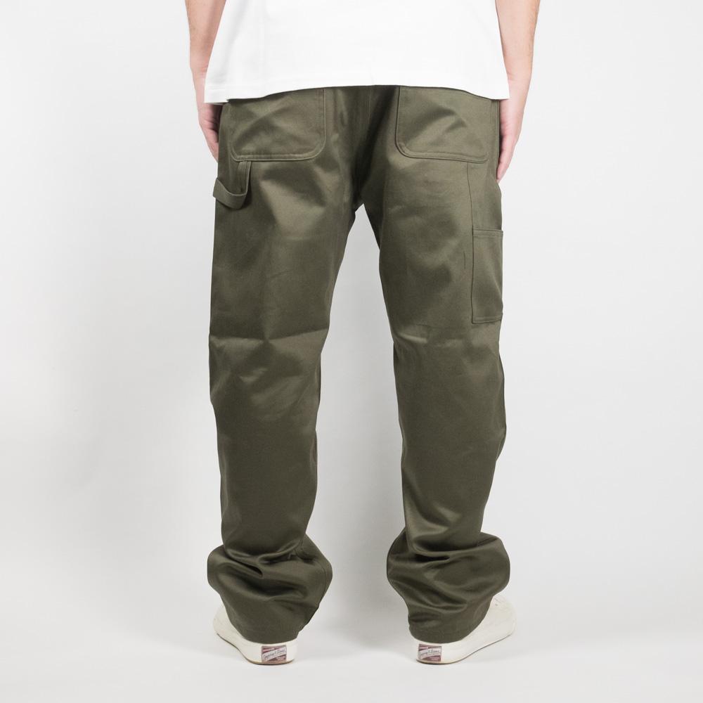 Monitaly Painter Pants - Vancloth Sateen Olive