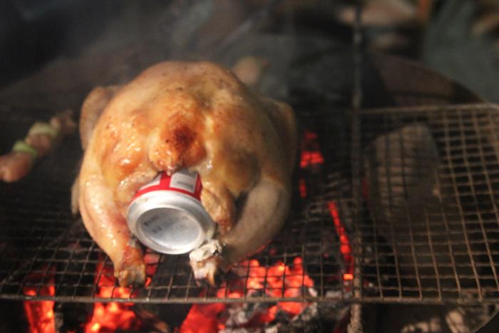 みんなで楽しめる鳥のビール丸焼き レシピ・作り方
