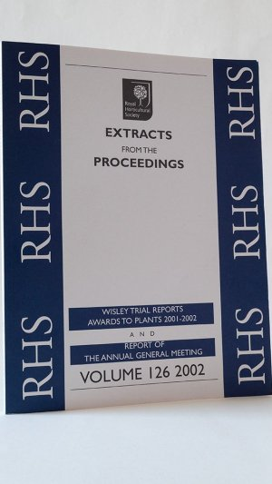 Extracts from the Proceedings Volume 126 2002