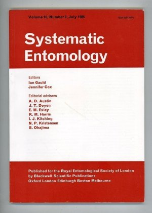 Systematic Entomology Volume 10, Number 3, July 1985
