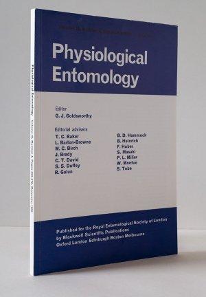 Physiological Entomology Volume 10, Number 4, December 1985
