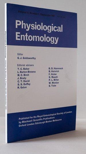 Physiological Entomology Volume 10, Number 3, September 1985