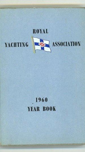 Royal Yachting Association 1960 Year Book