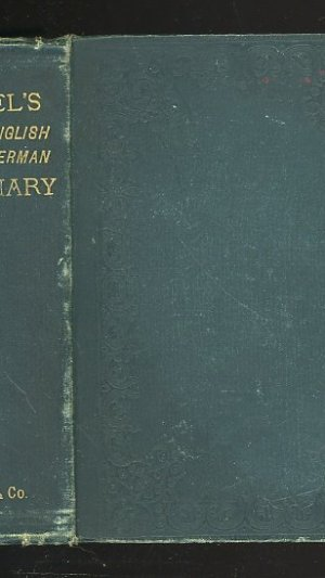 Flugel's Dictionary of the German and English Languages.