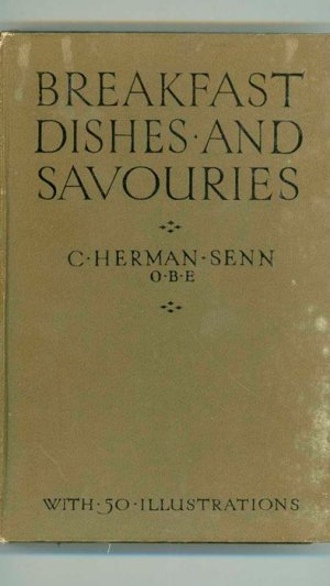 Breakfast Dishes and Savouries