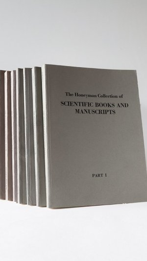 The Honeyman Collection of Scientific Books and Manuscripts. Complete Set of 7 Volumes.