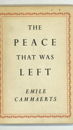 The Peace That Was Left
