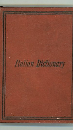 A New Pocket Dictionary of the English & Italian Languages