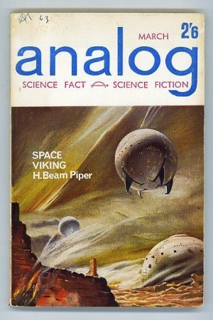 Analog: Science Fiction Science Fact Vol XIX No.3 March 1963