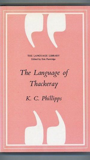 The Language of Thackeray