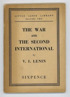 The War and the Second International