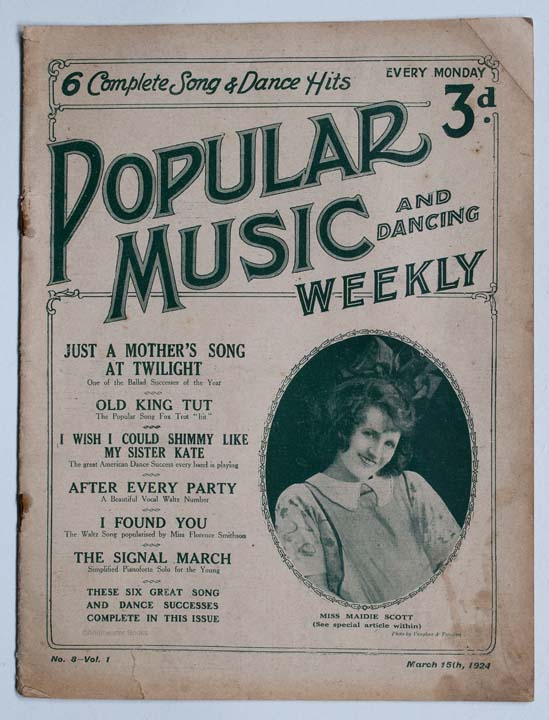 Popular Music and Dancing Weekly