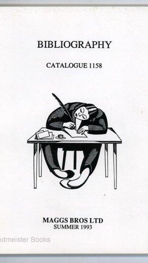 Bibliography Catalogue 1158