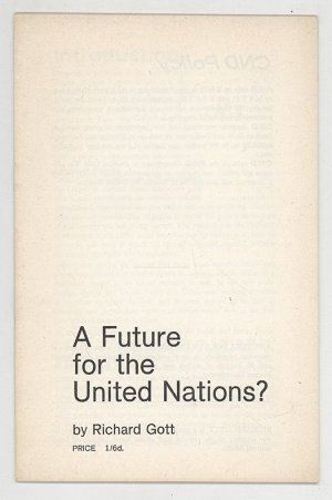 A Future for the United Nations?
