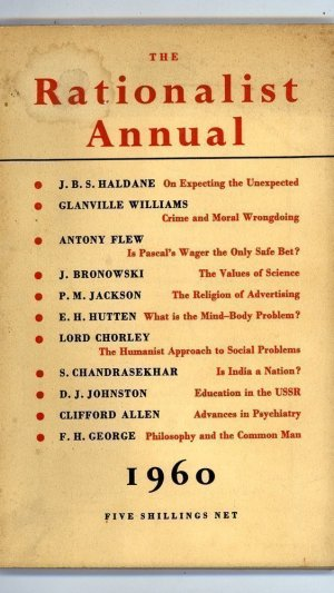 The Rationalist Annual for the Year 1960