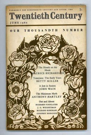 Twentieth Century: June 1960 Vol. 167 No. 1000