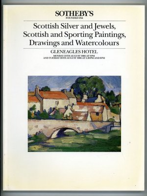 Scottish Silver and Jewels, Scottish and Sporting Paintings, Drawings and Watercolours