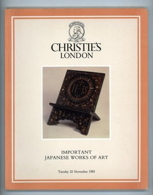 Important Japanese Works of Art