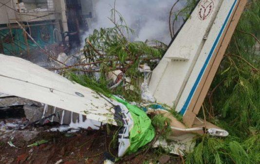 ghatkopar plane crash