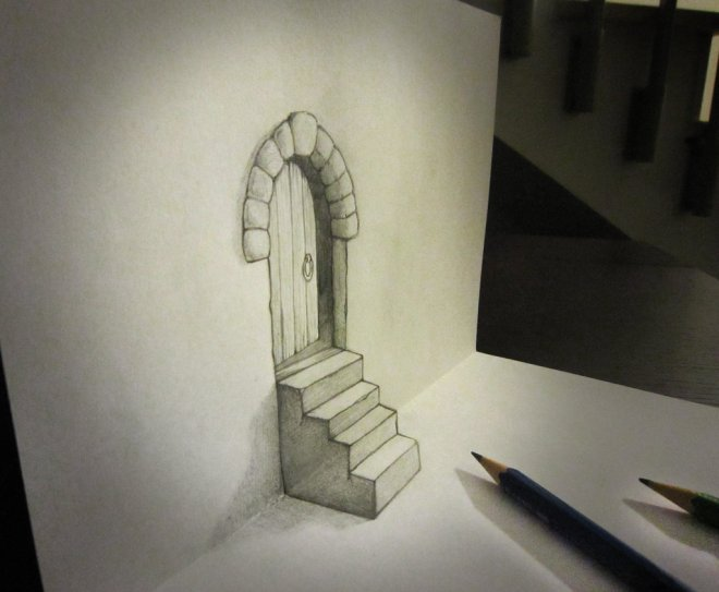 door_and_stair_anamorphosis_by_alessandrodd-d5wmw00