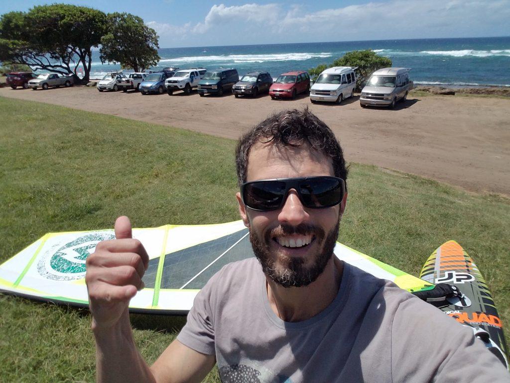 Maui Hookipa windsurf