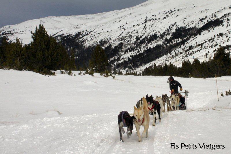 Activitats alternatives a l´esquí: moto de neu i múixing