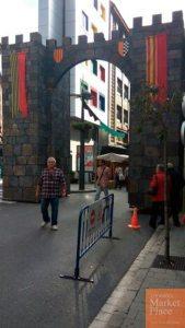 Portal Norte Fira Medieval