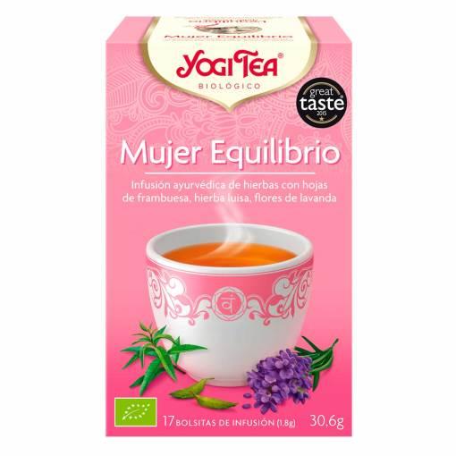 Yogi Tea BIO Mujer Equilibrio 17 bolsas - Andorra MarketPlace