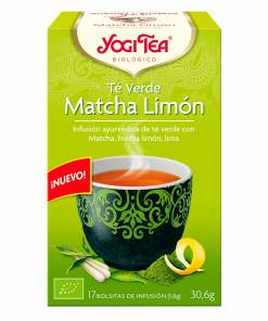 Yogi-Tea-BIO-Te-Verde-Matcha-Limon - Andorra MarketPlace