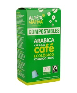Cápsula Ecológica biodegradable de Café Arabica - AlterNativa3 - Andorra MarketPlace
